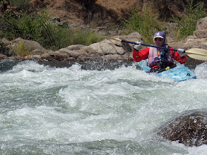 Photo: Running the right side at Killer Fang Falls !!