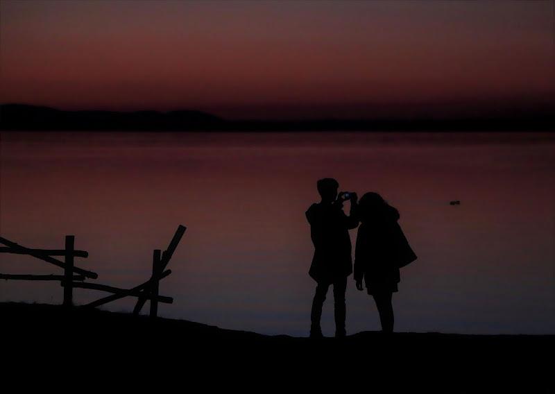 un'ultimo scatto prima del buio,,,,, di Carla Roganti