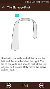 How To Tie A Tie- screenshot thumbnail