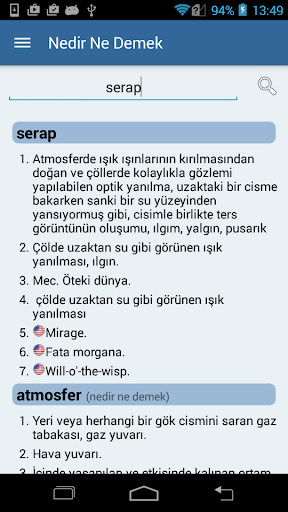 Nedir Ne Demek (Türkçe Sözlük) APK download | APKPure.ai
