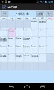 Scribble Calendar for Schedule - náhled