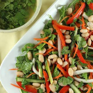 Bahn Mi Bean Salad.