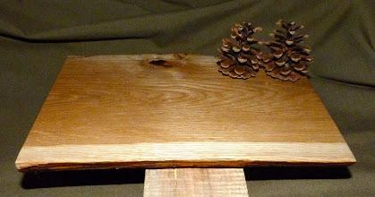 Photo: red oak tray
