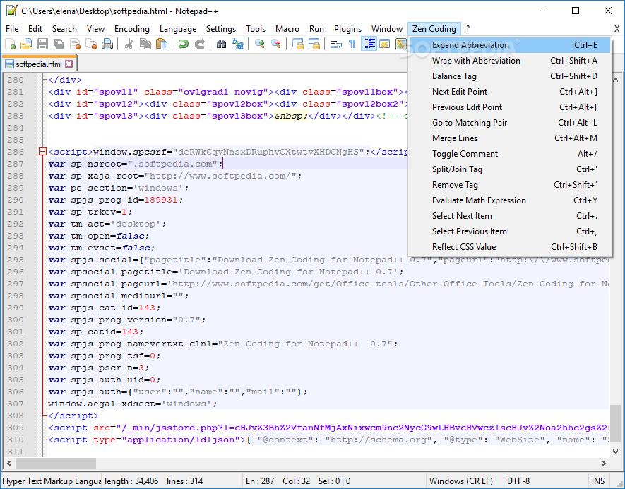https://windows-cdn.softpedia.com/screenshots/Zen-Coding-for-Notepad_5.png