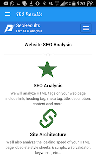 SEO Results - náhled