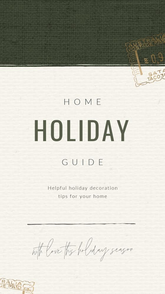 Home Holiday Guide - Facebook Story Template