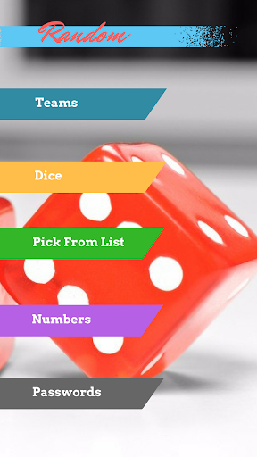 Random Generator app (apk) free download for Android/PC/Windows screenshot