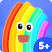 Rudi Rainbow: Children's Book With Learning Games Icon