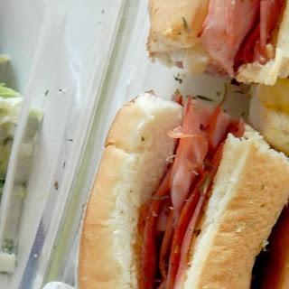 Hot Italian Baked Subs Recipe