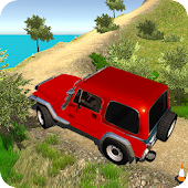 Offroad Jeep mountain 3d : winter season