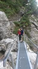 Photo: Trek to the Martuljek waterfalls on Thursday, August 27th. Photo: Ann Donohoe.