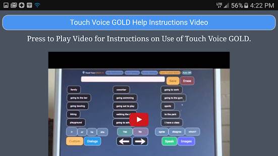 Touch Voice Gold- screenshot thumbnail