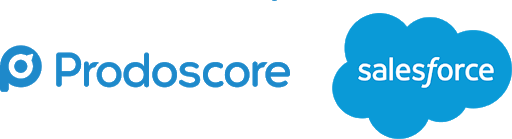 Prodoscore and Salesforce logo