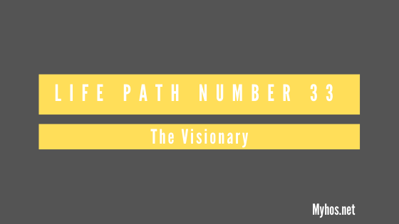 life path number 33 meaning