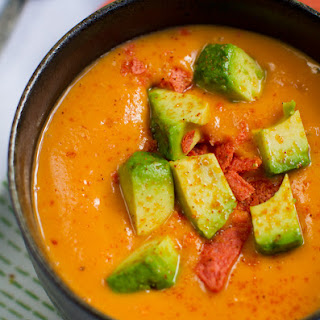 Sweet Potato Soup (in a Flash!)