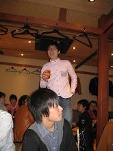 Photo: よっ!会長〜!