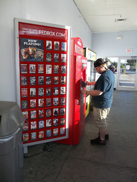 Photo: Love the Redbox at Walmart... makes it easy to drop off our Saturday Movie night rentals... always a fun time with the kids.. and makes for a cheap Family night...