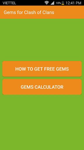 Gems Calculator For Coc Aplikasi Di Google Play