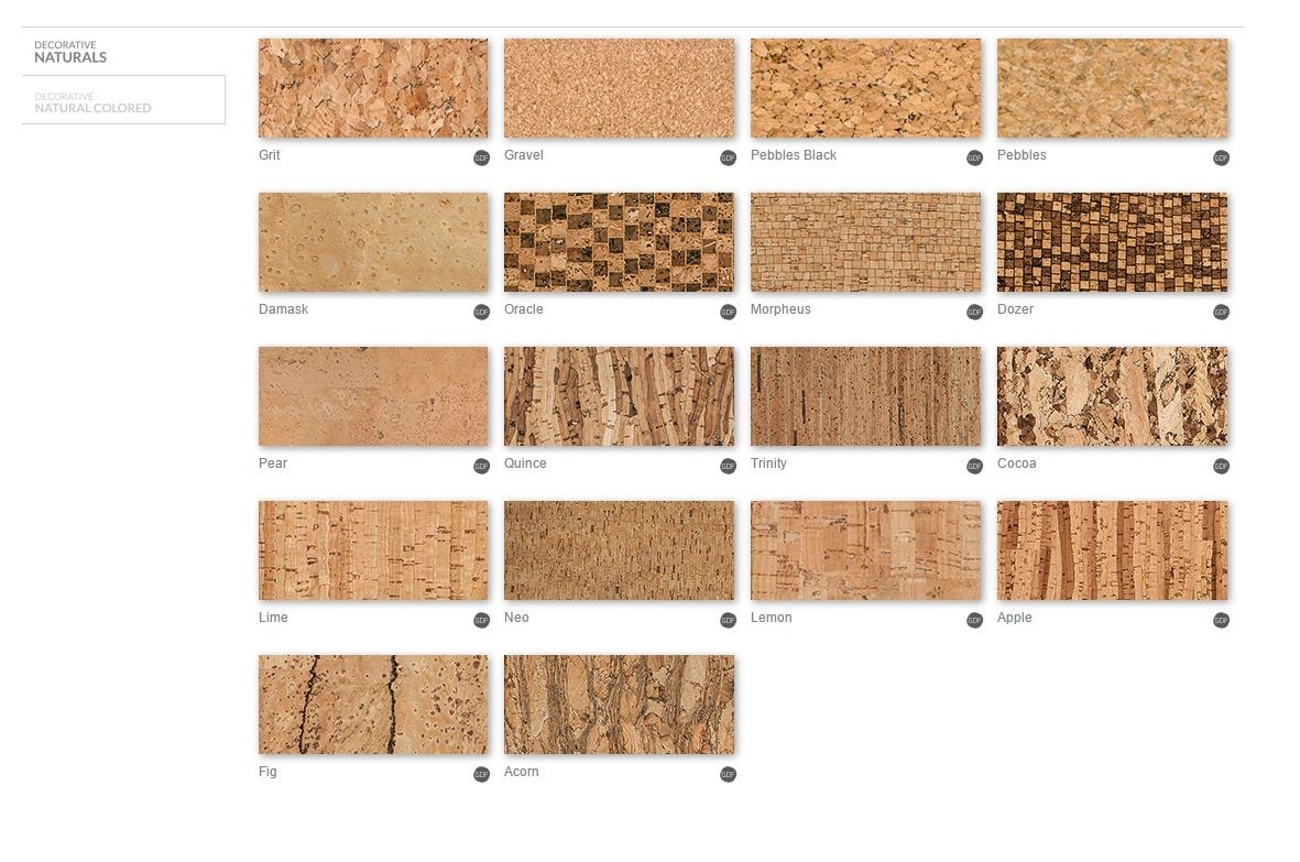 Design cork carpet