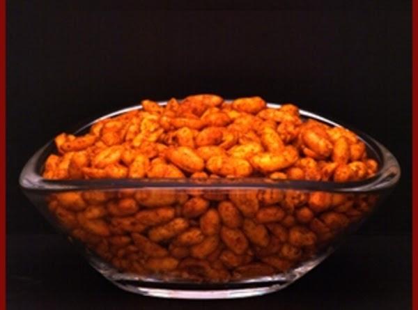 Hot 'n Spicy Peanuts Recipe