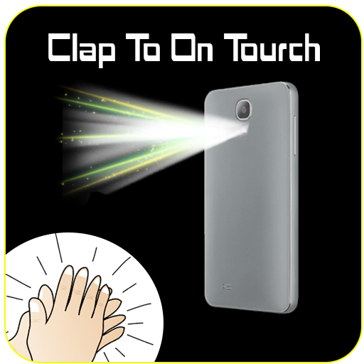 Clap to ON Torch Flash Light