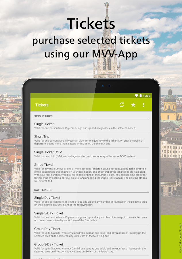 MVV-App – Munich Journey Planner & Mobile Tickets- screenshot