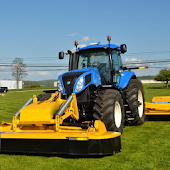 Puzzles Tractor New Holland