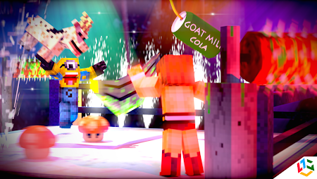 Blocky Wrestle 3D Free Edition 1.1 screenshot 38647