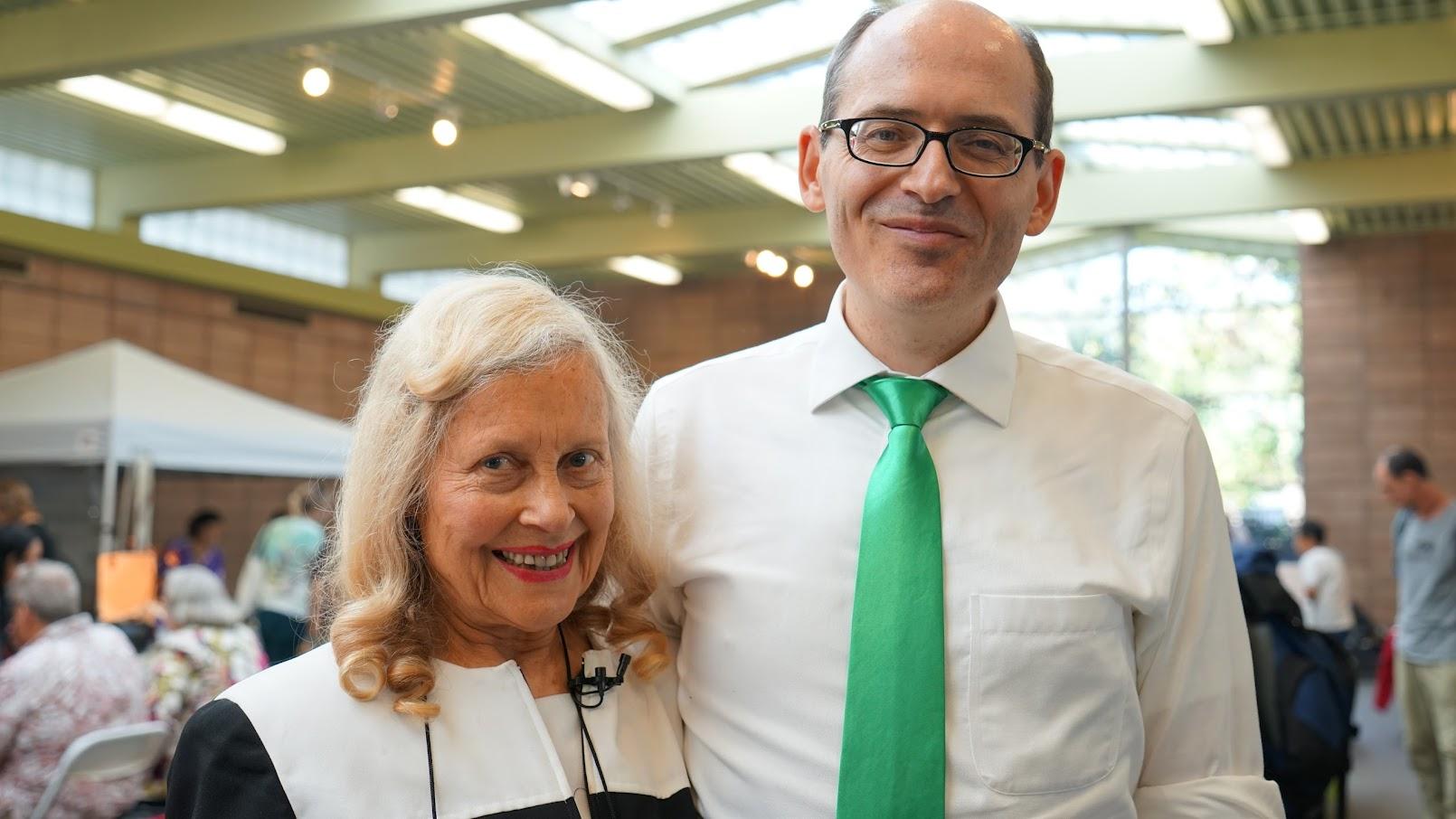 Shirley Potasz interviews Michael Beder, MD