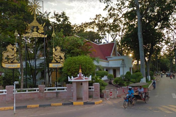 Королевская резиденция в Сием Реап, Камбоджа