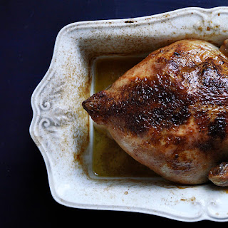 Beer Roasted Chicken.
