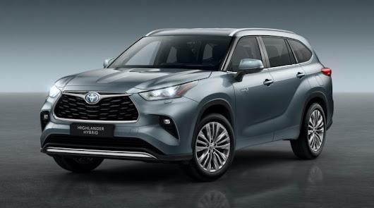 Ya puedes configurar en Toyota Almería, el nuevo Highlander 2021