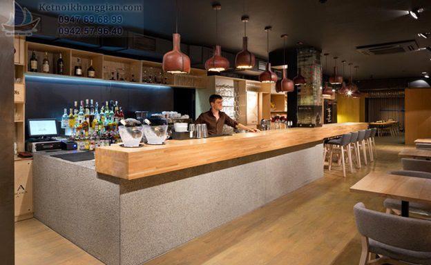 Thiết kế cửa hàng ăn uống theo phong thủy