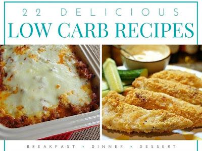 22 Delicious Low Carb Recipes