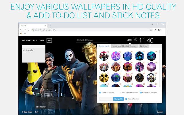 Fortnite Season & Skin Wallpapers HD Fortnite New Tab