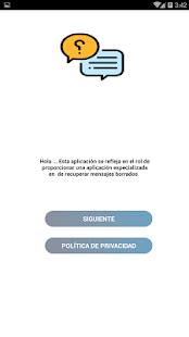 App recuperar mensajes eliminado APK for Windows Phone