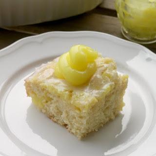 Lemon Sweet Roll Cake