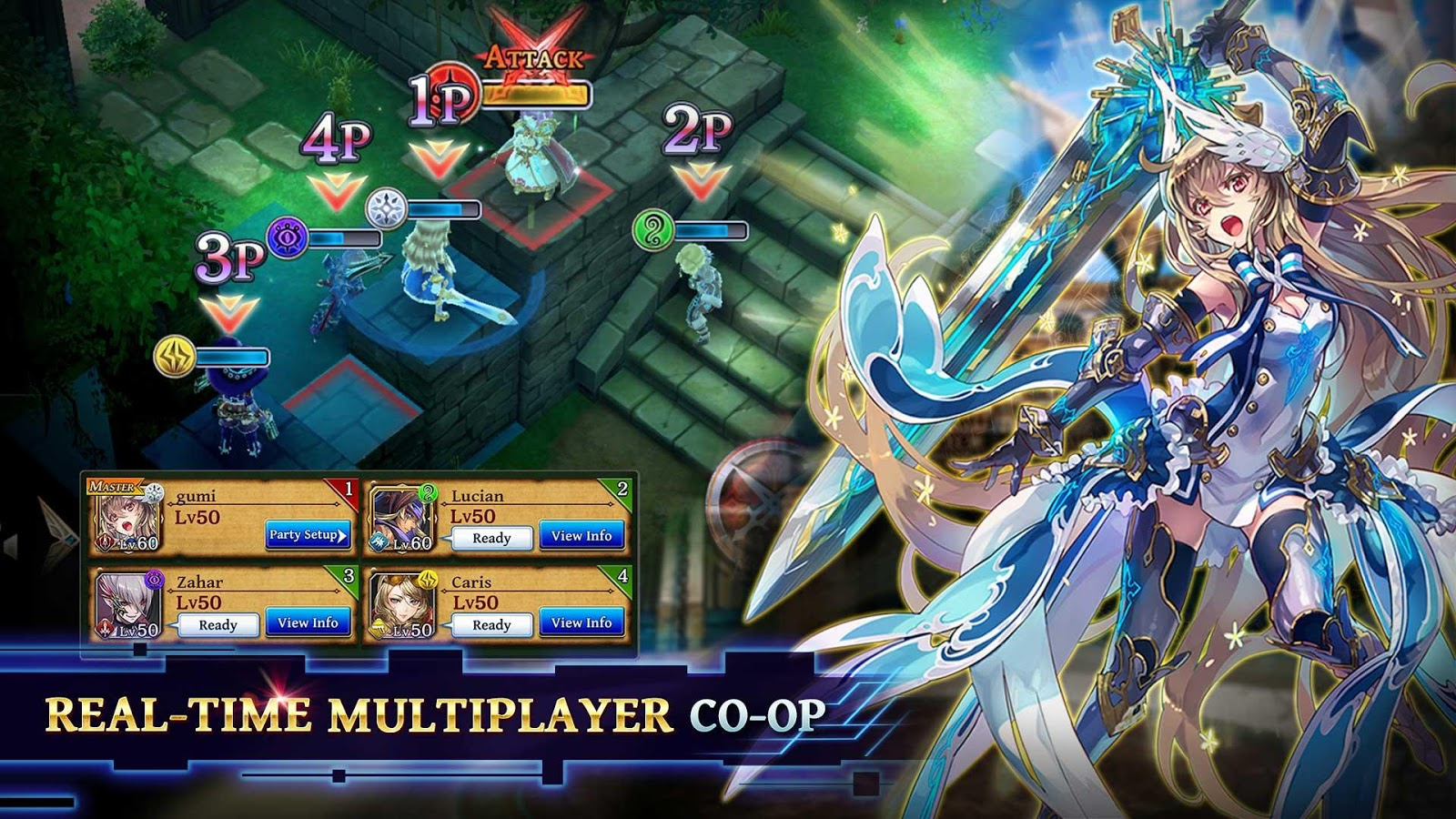 The Alchemist Code – zrzut ekranu