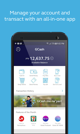 GCash - Buy Load, Pay Bills, Send Money screenshot 2