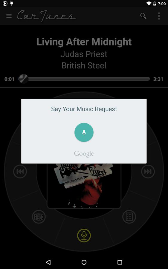 Car Tunes Music Player Pro - screenshot