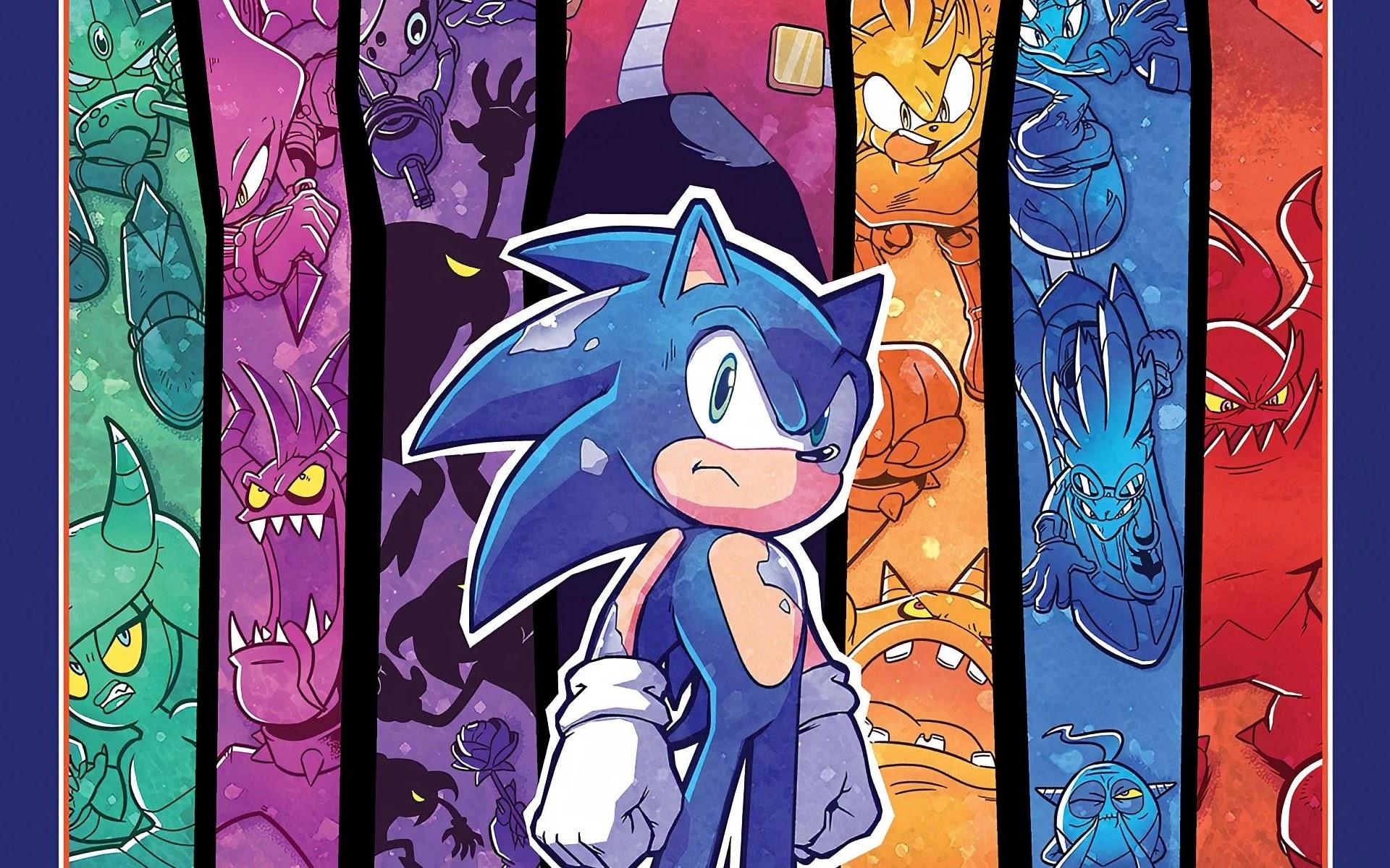 Premiera siódmego zeszytu zbiorczego IDW Sonic