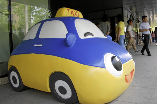 Safety concerns: A mascot of Didi Chuxing at the Chinese company's headquarters in Beijing. Picture: REUTERS