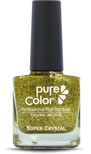 esmalte pure color sparkle gold glitter pc-801 sp