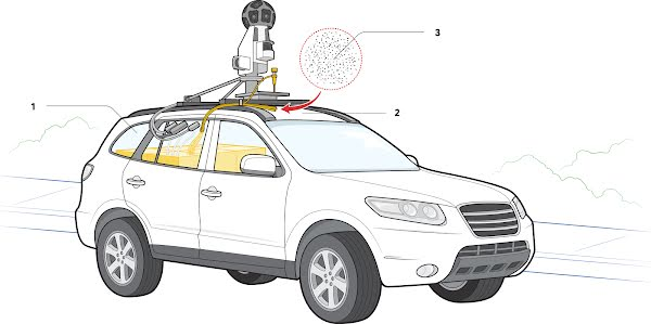 Anatomy of a mobile air pollution detection lab.