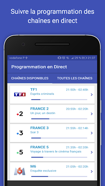 Tv France Android App Screenshot