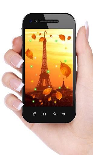 Autumn Paris Eiffel Tower