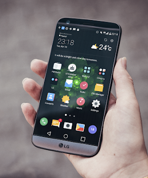 aflaai Midnight Green Theme for LG V30 G6 V20 G5 apk nuutste