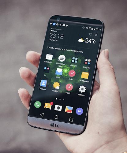 Download Midnight Green Theme for LG V30 G6 V20 G5 APK