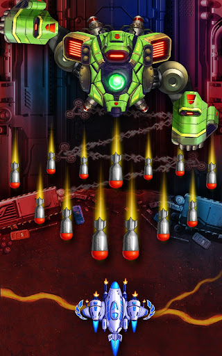 Space Squad: Galaxy Attack of Strike Force  captures d'u00e9cran 1