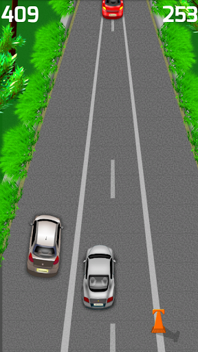highway driving game screenshot 2